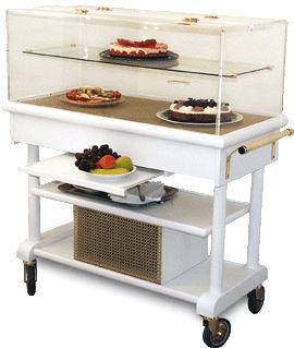 Table réfrigérée par compresseur ATLAS avec étagère