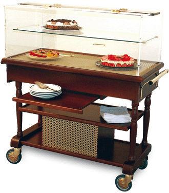 Table réfrigérée par compresseur CALYPSO avec étagère