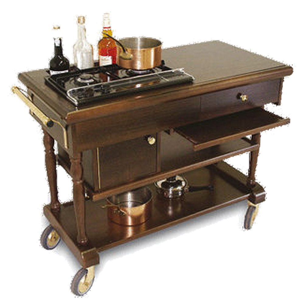 Tables chaudes, flambage, bain-marie, grand service