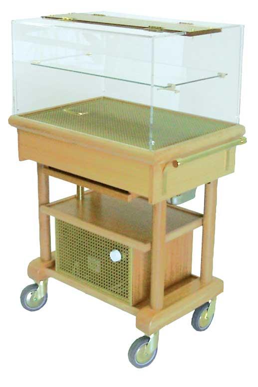 Table réfrigérée par compresseur PANDORRE avec étagère