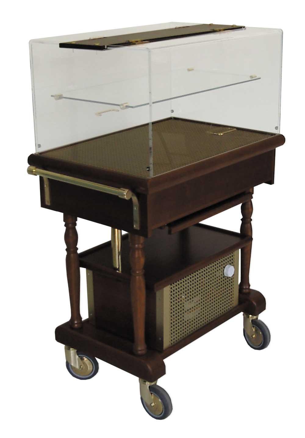 Table réfrigérée par compresseur PROMETHEE avec étagère