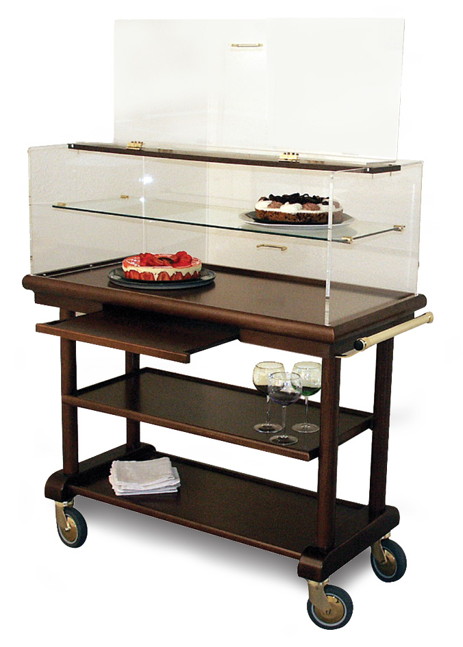 Table à fromages et desserts grand modèle avec étagère PROTEE
