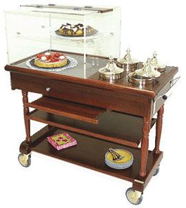 Table à desserts et sorbets eutectique TELESTO